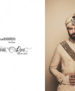 Fahad Hussayn Wedding Dresses 2014 For Boys and Girls 4