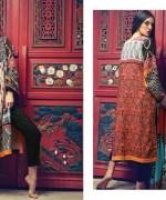 Firdous Cloth Mills Winter Dresses 2014 For Women 001
