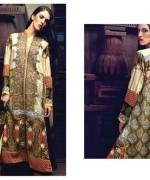Firdous Cloth Mills Winter Dresses 2014 For Women 002