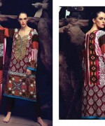 Firdous Cloth Mills Winter Dresses 2014 For Women 008