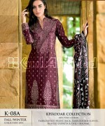 Gul Ahmed Khaddar Dresses 2014-15 For Women 1