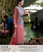 Gul Ahmed Khaddar Dresses 2014-15 For Women 2