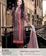 Gul Ahmed Khaddar Dresses 2014-15 For Women 3