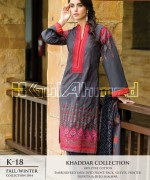 Gul Ahmed Khaddar Dresses 2014-15 For Women 4