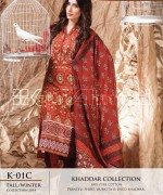 Gul Ahmed Khaddar Dresses 2014-15 For Women 6