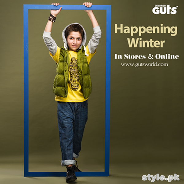 Guts Kids Wear Collection 2014 For Winter 2