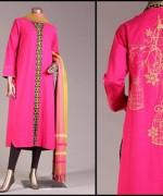 Junaid Jamshed Pret Wear Dresses 2014 For Women 001