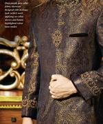 Junaid Jamshed Sherwani Collection 2014 For Men 003