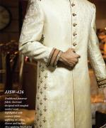 Junaid Jamshed Sherwani Collection 2014 For Men 009