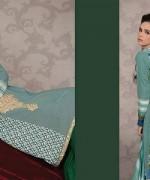Lala Textiles Celebre Woolen Shawl Dresses 2014-15 2