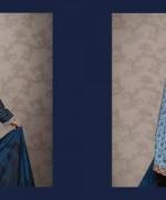 Lala Textiles Celebre Woolen Shawl Dresses 2014-15 4