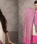 Lala Textiles Celebre Woolen Shawl Dresses 2014-15 6