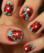 Latest Christmas Nail Designs 2014 For Women 001