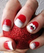 Latest Christmas Nail Designs 2014 For Women 0012