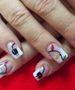 Latest Christmas Nail Designs 2014 For Women 0013