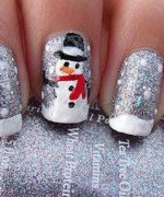 Latest Christmas Nail Designs 2014 For Women 0017