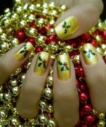 Latest Christmas Nail Designs 2014 For Women 0018