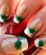 Latest Christmas Nail Designs 2014 For Women 0019