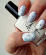 Latest Christmas Nail Designs 2014 For Women 002