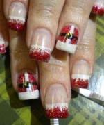 Latest Christmas Nail Designs 2014 For Women 003