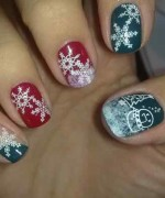 Latest Christmas Nail Designs 2014 For Women 004