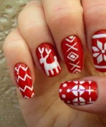 Latest Christmas Nail Designs 2014 For Women 005