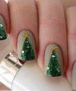 Latest Christmas Nail Designs 2014 For Women 006