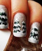 Latest Christmas Nail Designs 2014 For Women 008