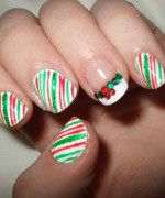 Latest Christmas Nail Designs 2014 For Women