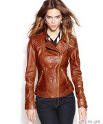 Latest Leather Jackets Trends 2014-15 For Women 1