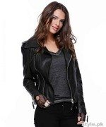 Latest Leather Jackets Trends 2014-15 For Women 6