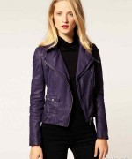 Latest Leather Jackets Trends 2014-15 For Women 8