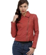 Latest Leather Jackets Trends 2014-15 For Women 9