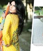Maheen hussain Winter Dresses 2014 by Shariq Textiles 0012