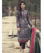 Maria B Linen Dresses 2014 For Winter 1