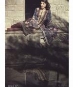 Maria B Linen Dresses 2014 For Winter 10