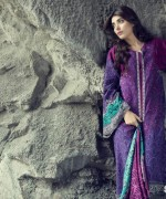 Maria B Linen Dresses 2014 For Winter 11