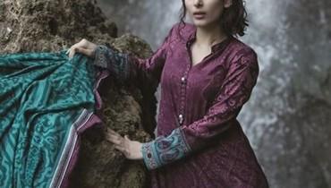 Maria B Linen Dresses 2014 For Winter 2