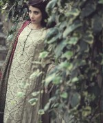 Maria B Linen Dresses 2014 For Winter 5
