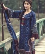 Maria B Linen Dresses 2014 For Winter 6