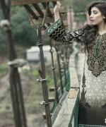 Maria B Linen Dresses 2014 For Winter 9
