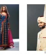 Mohsin Naveed Ranjha Bridal and Groom Dresses 2014 1