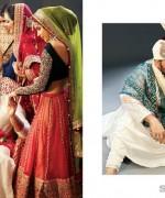 Mohsin Naveed Ranjha Bridal and Groom Dresses 2014 2