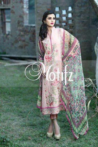 Motifz Winter Dresses 2014 Volume 2 For Women 002