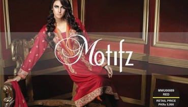 Motifz Winter Dresses 2014 Volume 2 For Women