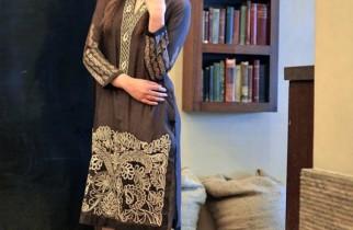 Nadia Farooqui Winter Dresses 2014-15 For Women 8