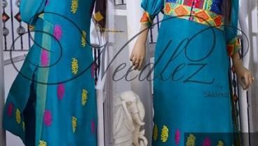 Needlez By Shalimar Winter Dresses 2014 For Women 001