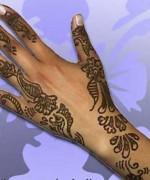 New Christmas Mehndi Designs 2014 For Women 0011