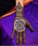 New Christmas Mehndi Designs 2014 For Women 0014