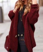 New Designs Of Winter Long Sweaters For Women 0013